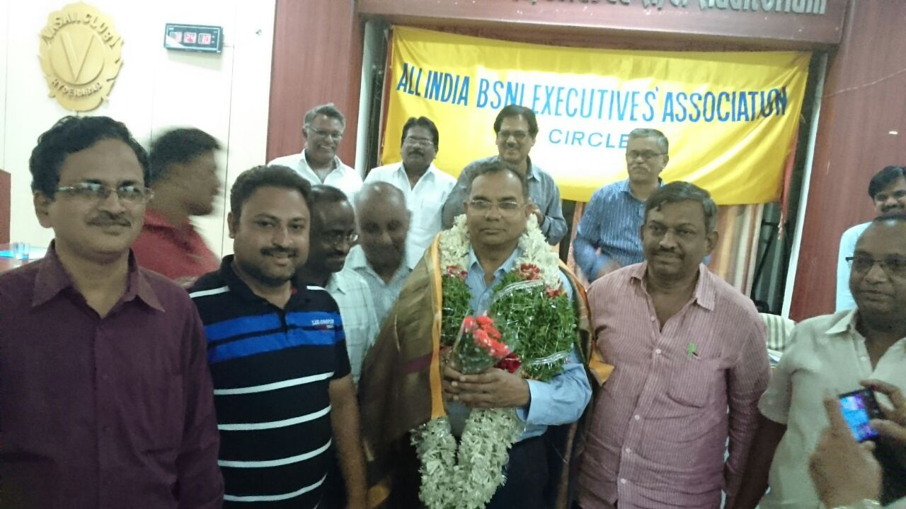 Felicitation to GS BY AO PROMOTEES