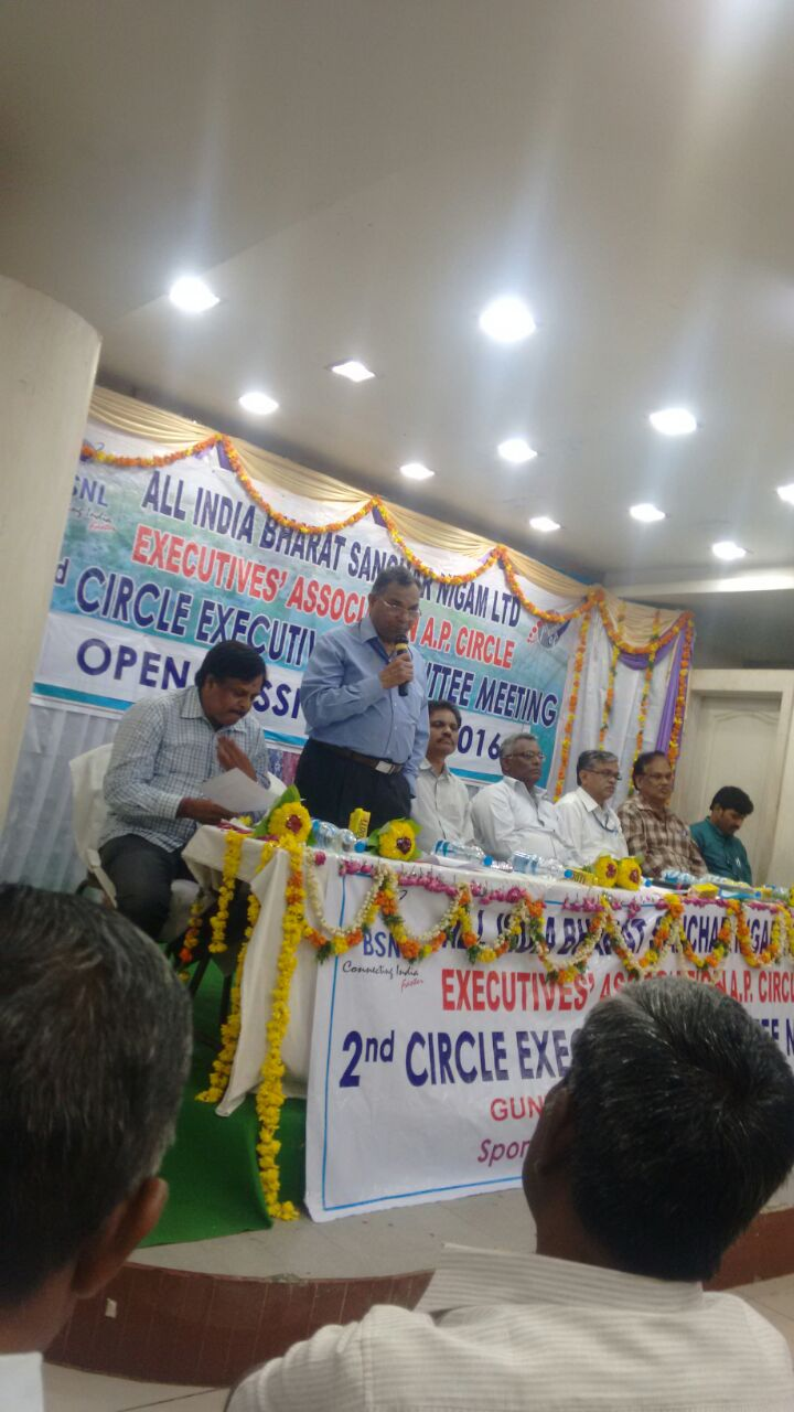 GS addressing Open session